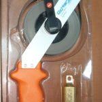 рулетка измерительная с лентой из нержавейки и латунным грузом