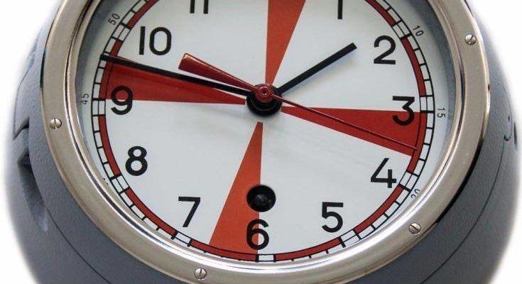 часы 5 чм с секторами радиомолчания