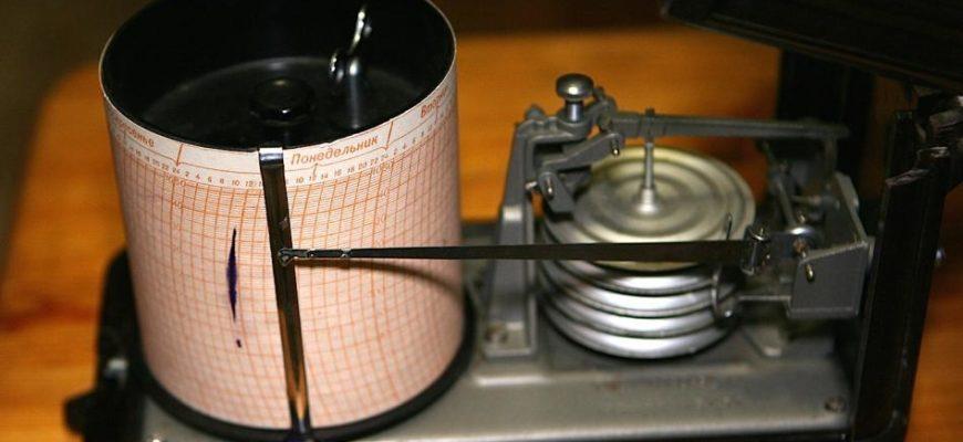 Бумага для барографа