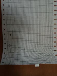 Бумага диаграммная для курсографа